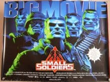 Small Soldiers, Original DS UK Quad Poster, '98