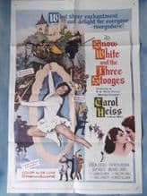 Snow White and the Three Stooges, Movie Poster, Moe Howard, Larry Fine, '61