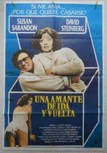 Something Short of Paradise, Argentinian Movie Poster, Susan Sarandon, '79