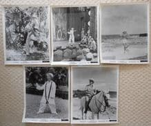 South Pacific, 5 Movie Stills, Rossano Brazzi, Mitzi Gaynor, r64