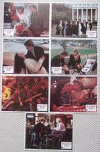 St Elmos Fire, Original Lobby Cards (7), Moore, Lowe, Sheedy, Estevez, '85
