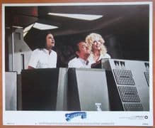 Superman 3, Original Lobby Card #3, Christopher Reeve, Robert Vaughn, '83