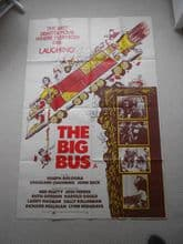 The Big Bus - UK Movie Poster | Stockard Channing | John Beck