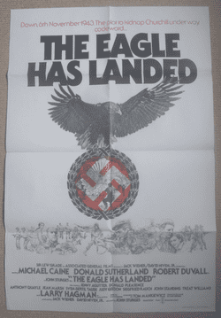 The Eagle Has Landed - Movie Poster | British One Sheet