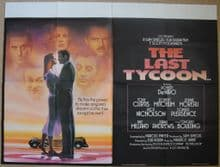 The Last Tycoon - UK Quad Poster
