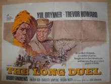 The Long Duel - British Quad Film Poster | Yul Brynner