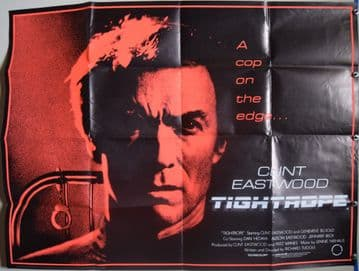 Tightrope Clint Eastwood Film Poster - UK Quad