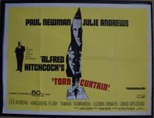 Torn Curtain (1966) - Paul Newman | UK Quad Poster