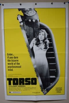 Torso Horror Poster - US One Sheet