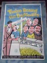 Twice Around the Daffodils, Movie Poster, Kenneth Williams, Joan Sims,  '62