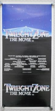 Twilight Zone, Original Australian daybill, Dan Aykroyd, Albert Brooks, '83