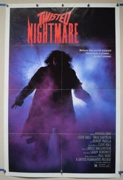 Twisted Nightmare (1987) Horror Poster  - US One Sheet