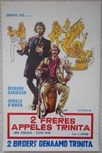 Two Brothers in Trinity, Original Belgian Film Poster, Italian Western, 72