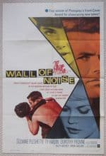 Wall of Noise, Original Movie Poster, Jean Byron, Fred Carson, '63