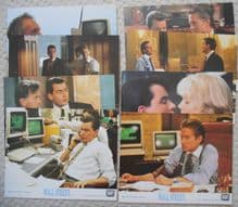 Wall Street, 8 original stills, Michael Douglas, Charlie Sheen, '87