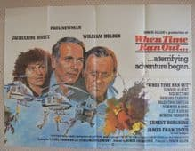 When Time Ran Out - UK Quad Poster | Paul Newman