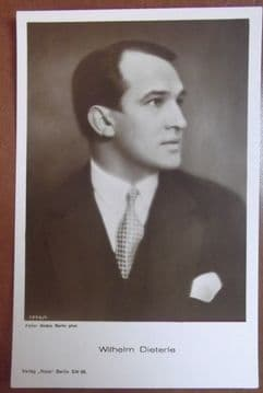 Wilhelm Dieterle, German Actor 1893-1972, Vintage