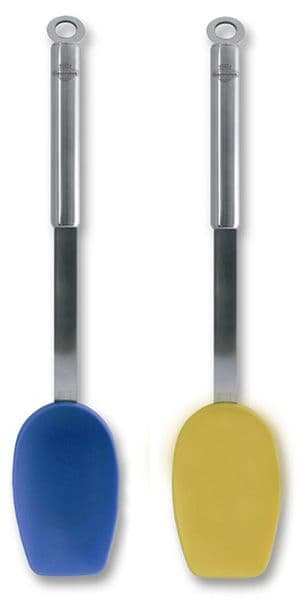 Silicone Gravy Spoon - Stainless Steel Handle