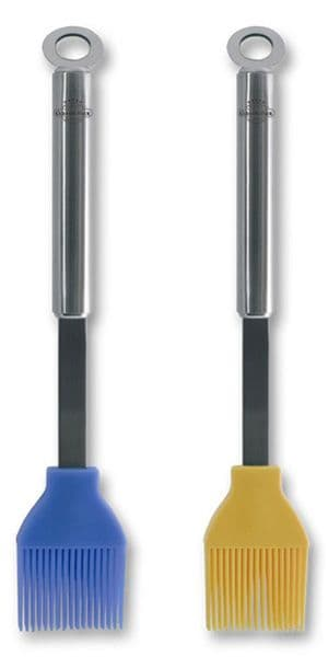 Silicone Brush - Stainless Steel Handle