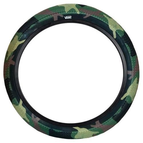 """Cult 20"""" Vans Tyre - Pair of Camo With Black Sidewall 2.40"""""""