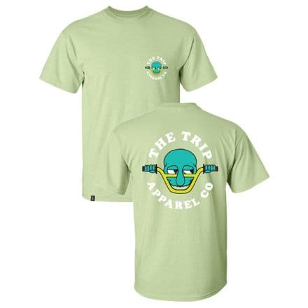 The Trip Kilroy T-Shirt - Pistachio Green Large