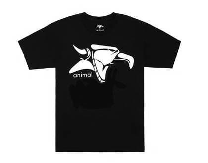 Animal Classic Griffin T-Shirt Black Large