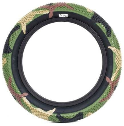"""Cult 12"""" Vans Tyre - Camo With Black Sidewall 2.20"""""""