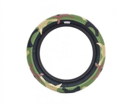 """Cult 14"""" Vans Tyre - Camo With Black Sidewall 2.20"""""""