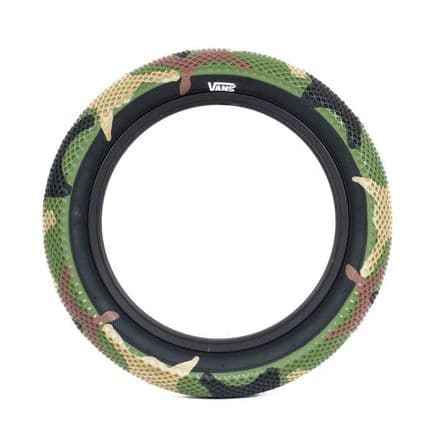 """Cult 18"""" Vans Tyre - Camo With Black Sidewall 2.30"""""""