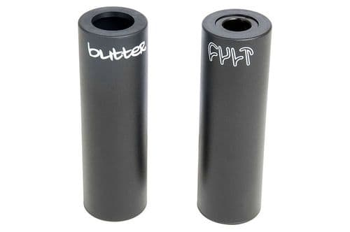 Cult Butter 115mm Plastic Peg - Black 14mm With 10mm Adapter