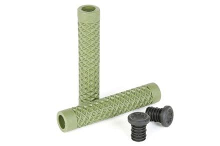 Cult / Vans Waffle Sole Flangeless Grips - Olive Green