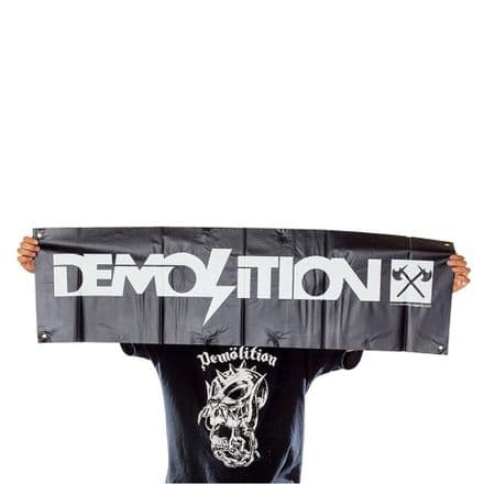 Demolition Logo Banner
