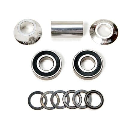 Demolition Mid BB Set 24mm Silver