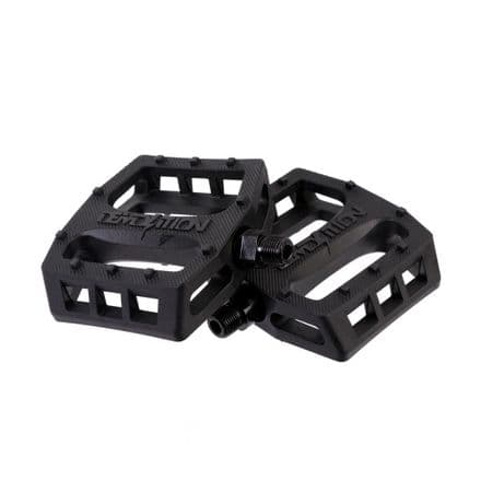 Demolition Trooper Nylon Pedals Black