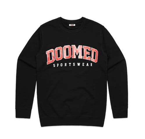 Doomed Drop Out Sweater Black XXL