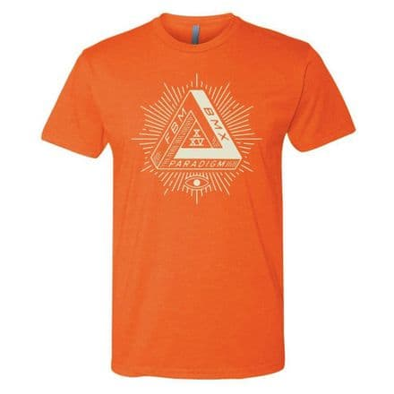 FBM Paradigm T-Shirt Orange Heather Large