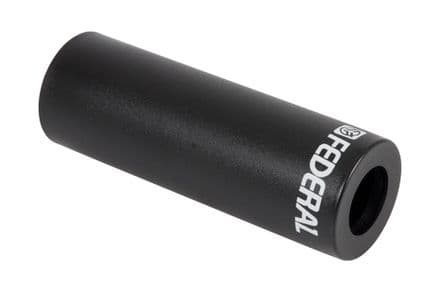 "Federal 4.15"" Plastic Peg Sleeve - Black (Each)"
