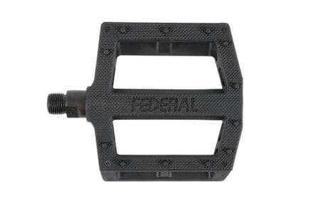 Federal Contact Plastic Pedal - Black 9/16""
