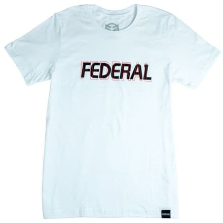 Federal Double Vision T-Shirt - White - Large