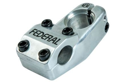 Federal Element Top Load Stem - Silver 50mm Reach