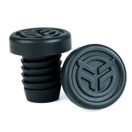 Federal Rubber Bar Ends - Black