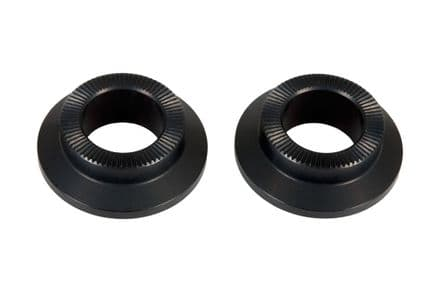 Federal Stance Front Hub Cone Nuts Black (Pair)