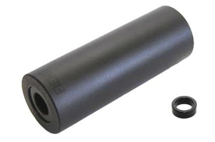 "Fiend Belmont 4.25"" PC Plastic Peg - Anodized Black 14mm"