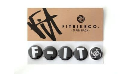 FIT F-IT Buttons 5 Pack