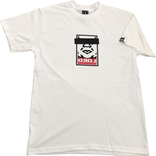 Lord Obeyed T-Shirt White XL