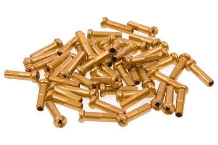 Primo Alloy Spoke Nipples (Pack Of 50) - Gold