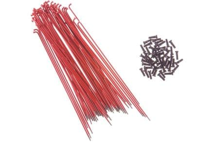 Primo Forged Spokes (Pack Of 50) - Red 194mm