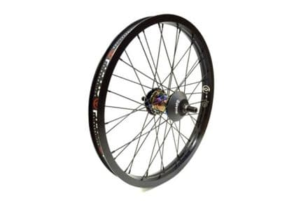 Primo LHD VS Freemix Rear Wheel With Hubguards - Oil Slick Hub With Black Rim 9 Tooth