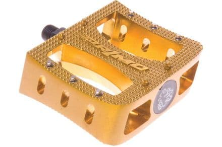 Primo Super Tenderizer Alloy Pedals - Gold 9/16""