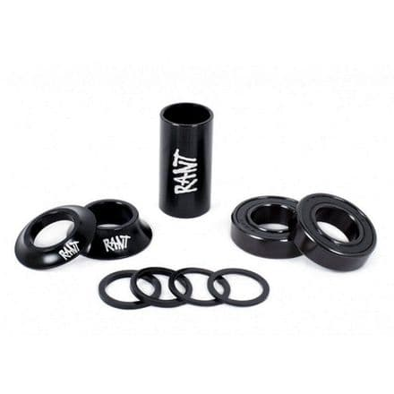 Rant Bang Ur Mid Bottom Bracket - Black 22mm